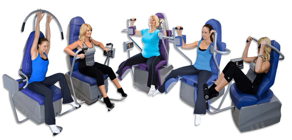 Assisted ladies gym Stoke-on-Trent machines