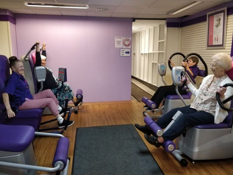 Exercise for ladies stoke on trent