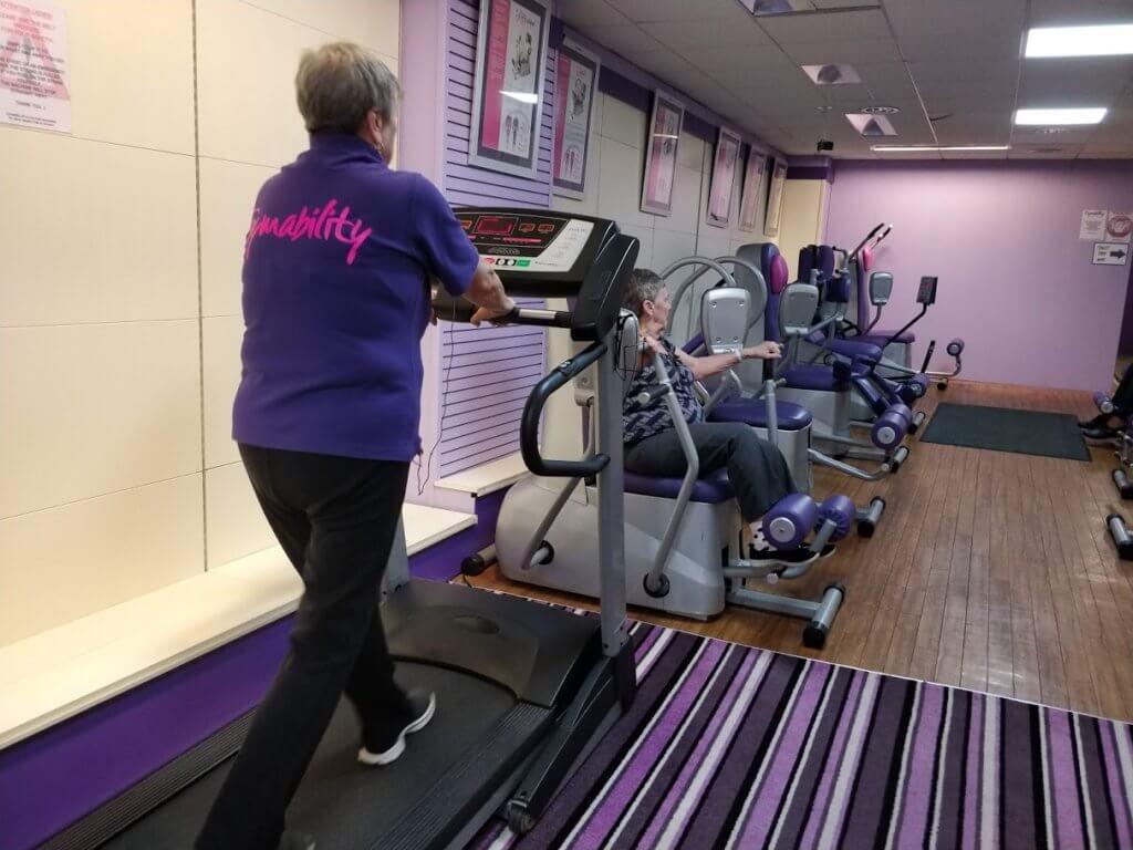 Gymability Ladies gym treadmill walker